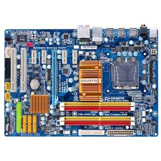 Motherboard lga 775 gigabyte ga-ep43-ud3l hard modded with xeon x5450