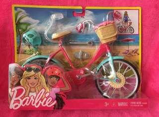 Barbie 芭比限量版粉紅色單車