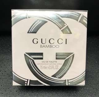 原價 $7xx Gucci Bamboo 75ml 香水全新未拆封