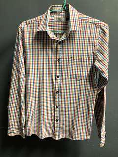 Topman checkered shirt