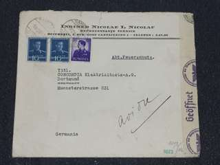 WW2 Romania 1940 Censor Cover to Dortmund Germany