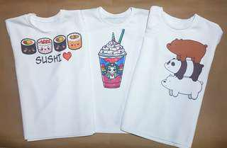 Cute Themed Casual T-shirts