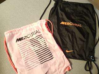 2 × 100% Authentic Nike Mecurial Bags 9.5/10