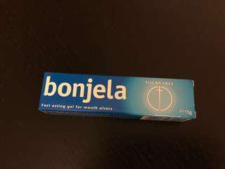 bonjela mouth gel口腔痱滋軟膏