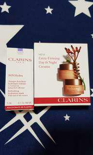 Clarins Extra Firming Day & Night cream & Mask trial set