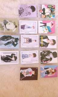 INFINITE L KIM MYUNGSOO ( OFFICIAL INFINITE COLLECTION CARDS )