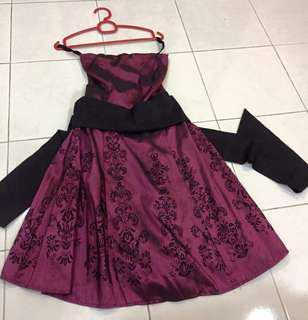 Envee Tube Satin Dress with Tie back #50Under #paywithboost
