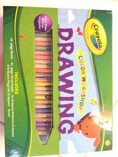 BNIB Crayola Color Workshop Drawing