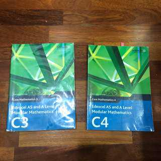 A LEVEL Mathematics Textbooks