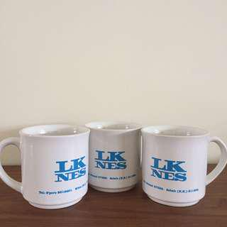 3 for $1 Drinking mugs (porcelain)