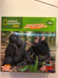 BNIB 3D Puzzle National Geographic Kids