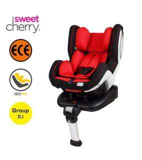 Sweet Cherry LB589 Isofix Carseat Red