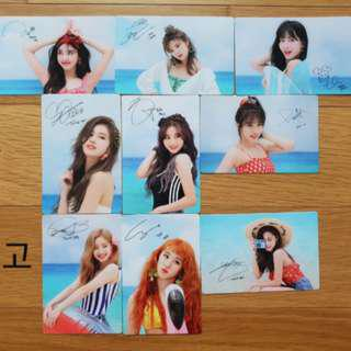 [PO] TWICE Dance The Night Away DTNA Official Broadcast Cards