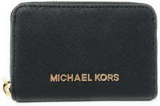 Michael Kors Jet Set Travel Coin Case Zip Around Wallet
