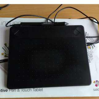 Wacom Intuos CTH 490/k small pen and touch tablet