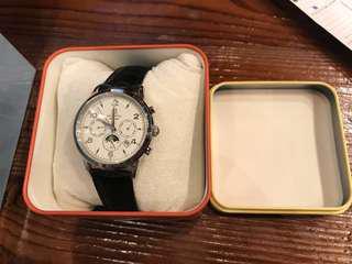 全新Titus鐵達時日月星辰~天長地久機械手錶