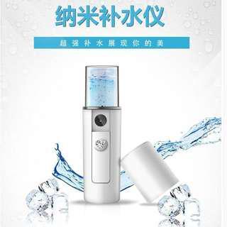 超声波纳米喷雾补水仪便携式补水仪Nano Skin Care Hydrating Mist Sprayer Atomiser