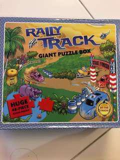 BNIB Large Floor Puzzle - Raily Track
