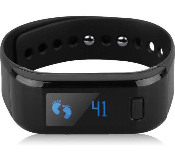 905 Excelvan All In One Oled Smart Healthy Bracelet Ip67 Waterproof Bluetooth Pedometer Tracking Calorie Sleep Monitor Call Reminder Remote Capture Wristband For Android Ios Cellphones Black Electronics Others On Carousell