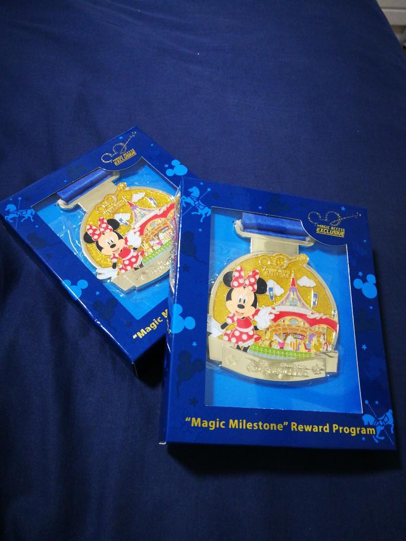 迪士尼 章 magic milestone ($50each)
