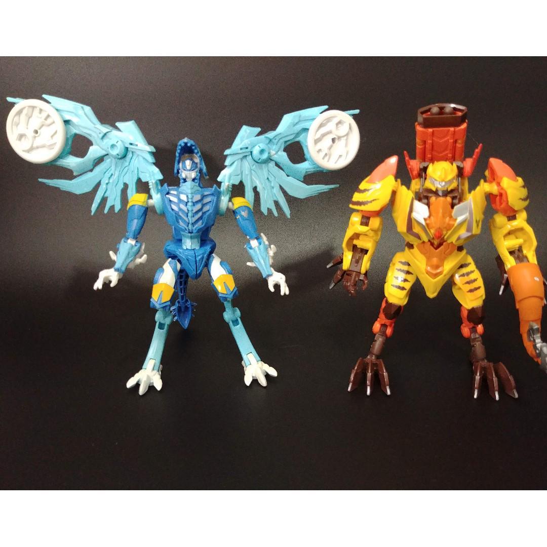 Transformers Beast Hunters VerteBreak complet Deluxe Prime FIGURE