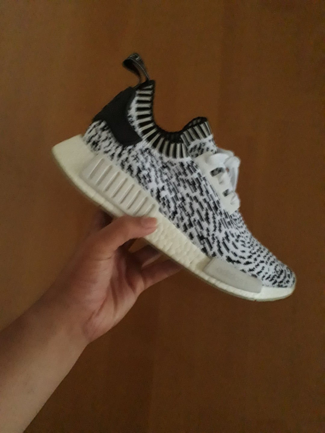best service 6d0b5 810b0 Adidas NMD sashiko white, Men s Fashion, Footwear, Sneakers on Carousell