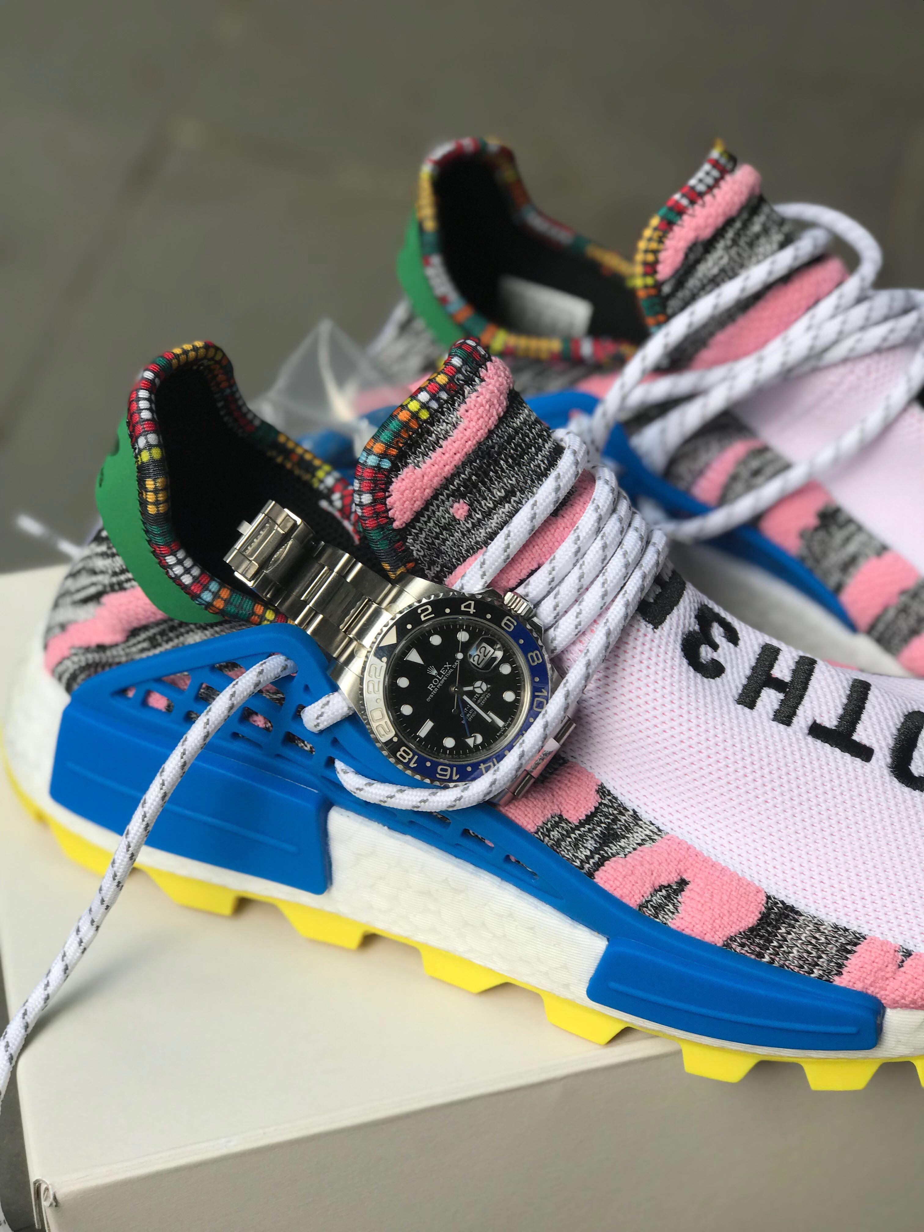 b2f9041537685 Adidas Pharrell Williams SOLARHU NMD (PINK) - selling below cost ...
