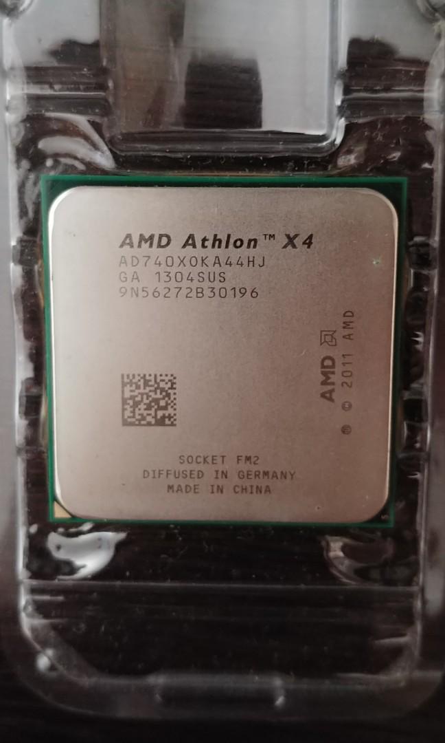 Amd athlon x4 740x cpu