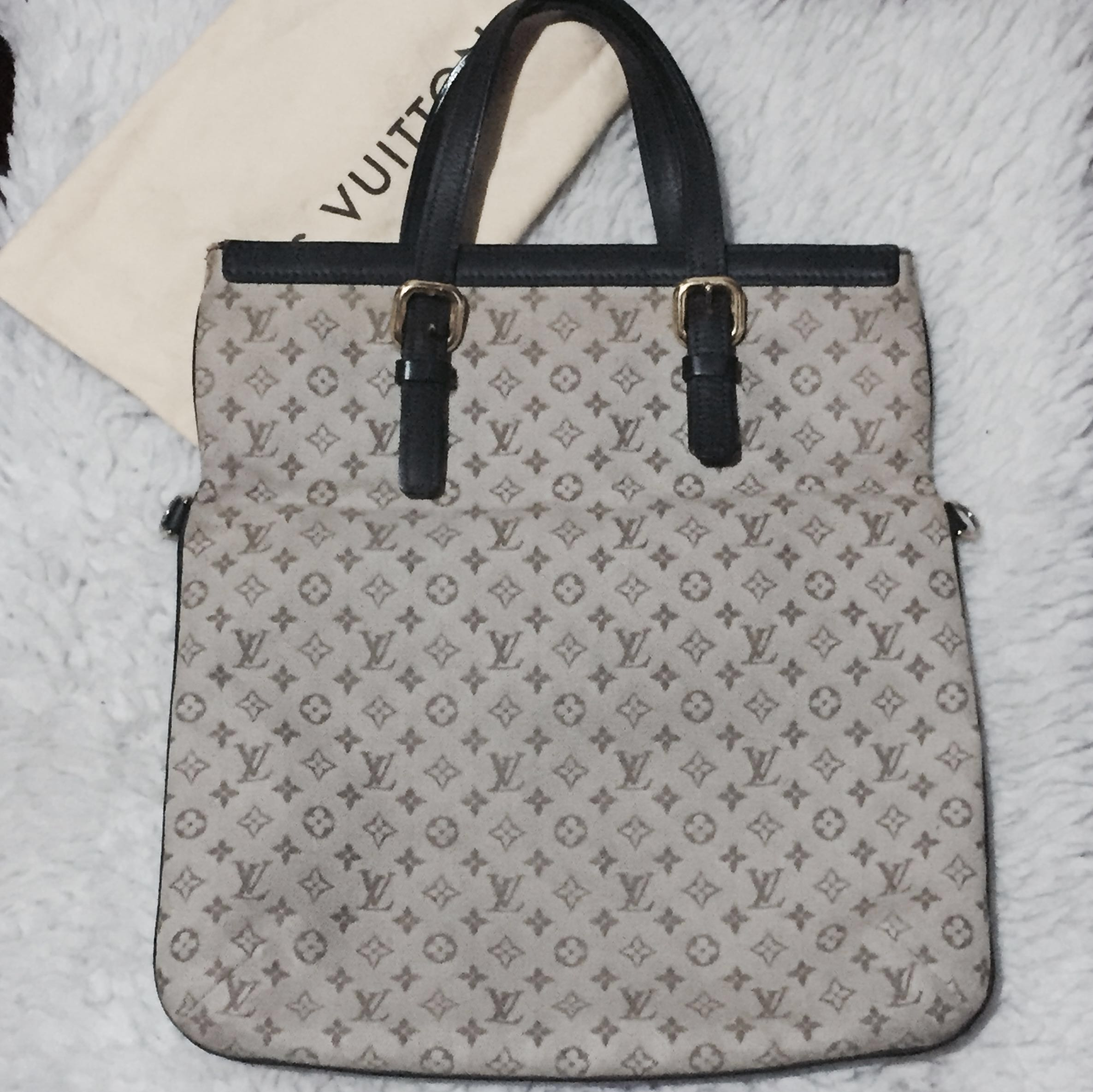 Authentic Louis Vuitton Mini lin Francoise Bag 10918753fbf96