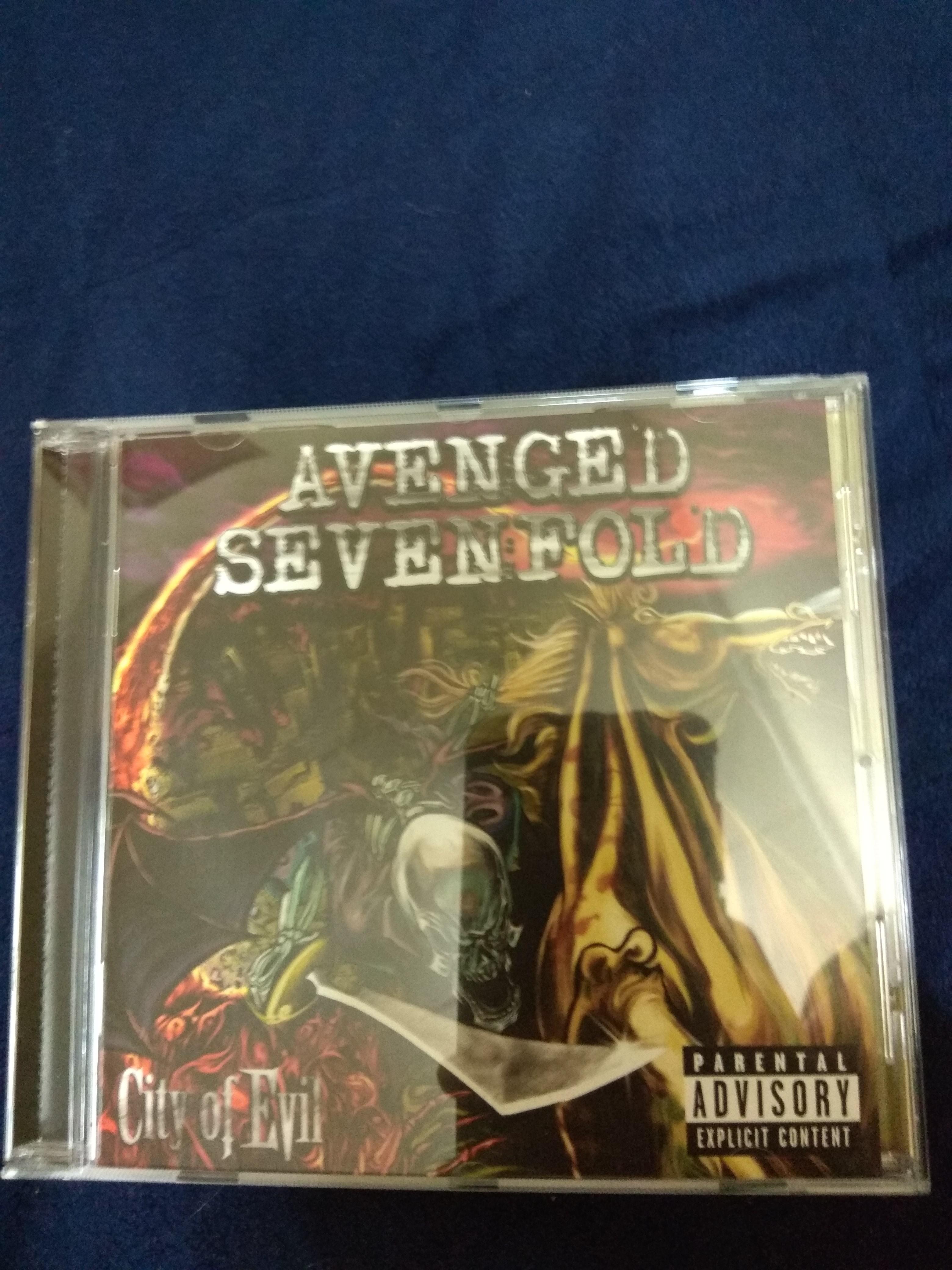 avenged sevenfold greatest hits cd