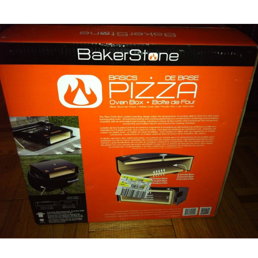 BAKERSTONE PIZZA OVEN BOX - NEW IN BOX