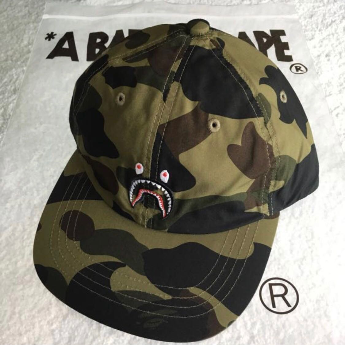 c7aee2b46a5 BAPE 1ST CAMO SHARK WGM CAP