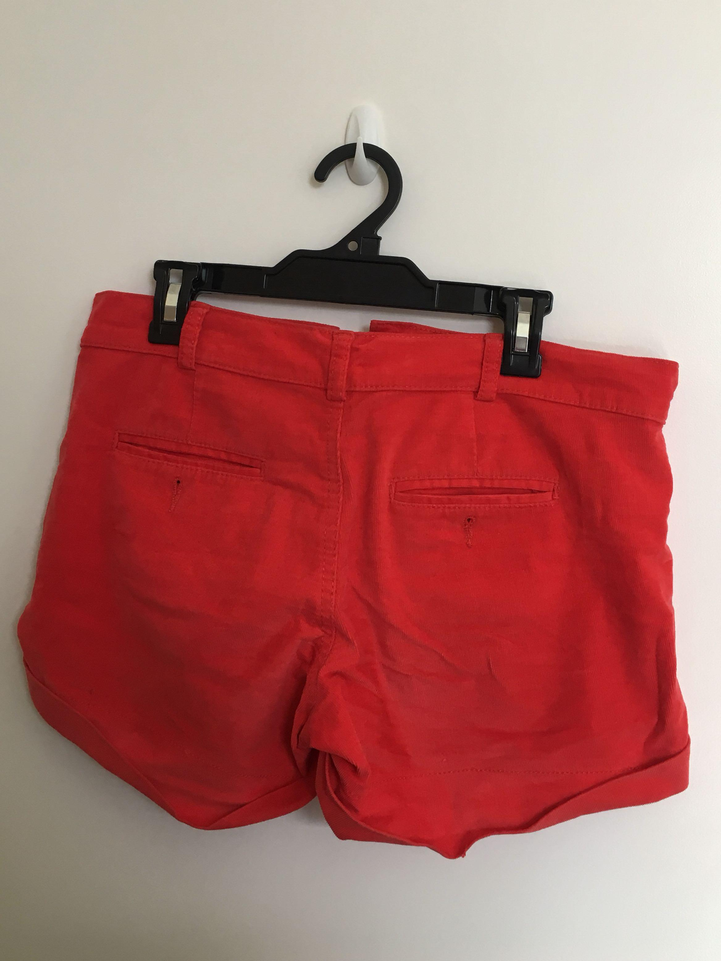 Benetton Dark orange/Red Shorts (S/M)