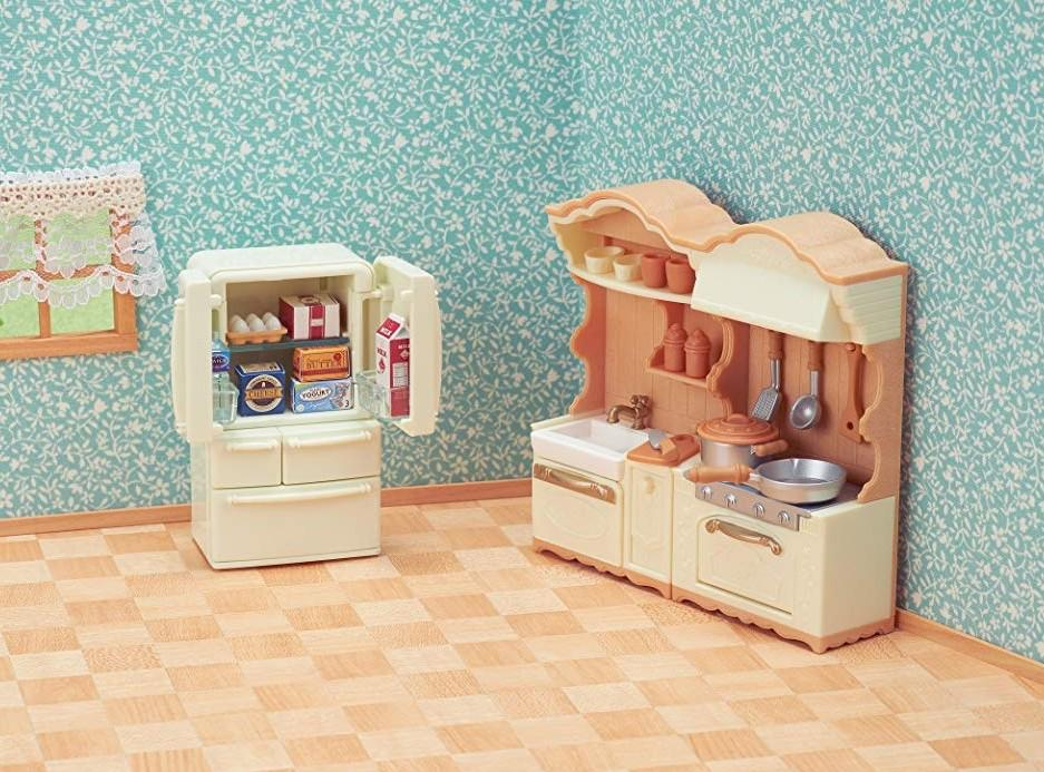 In Stock* BN Sylvanian Families Calico Critters Epoch Dining ...
