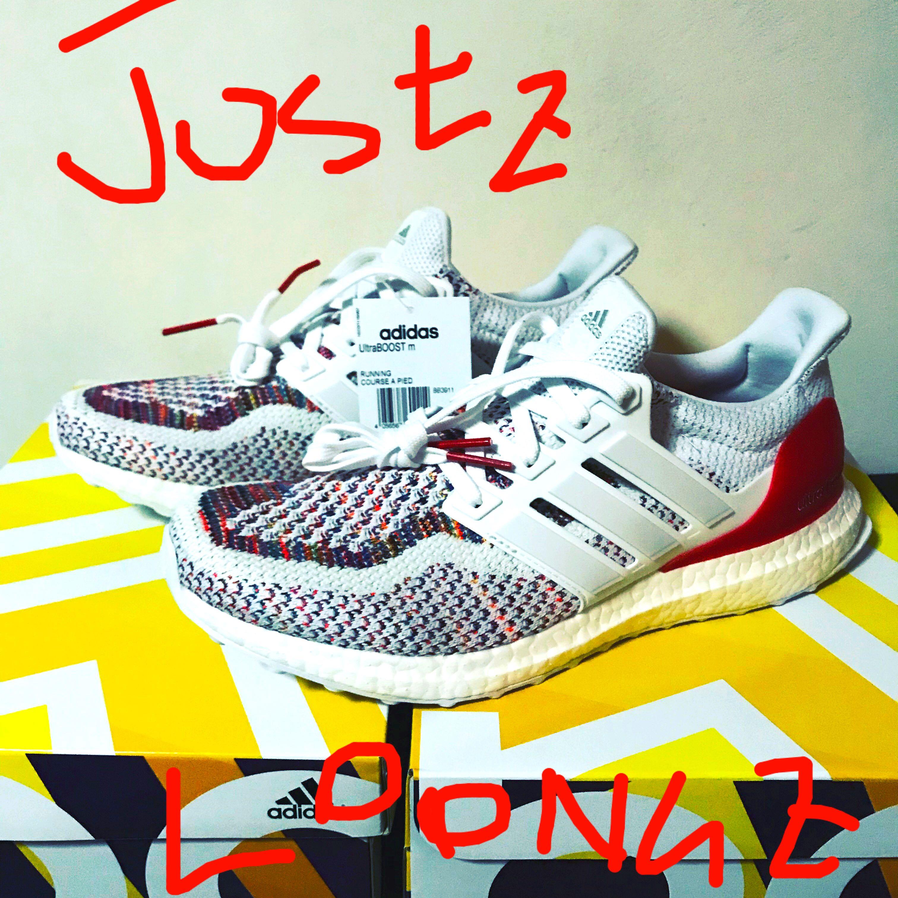 sports shoes 7f075 55722 BNIB Adidas Ultraboost multicolour 2.0 uk6.5 us7, Mens Fashion, Footwear,  Sneakers on Carousell