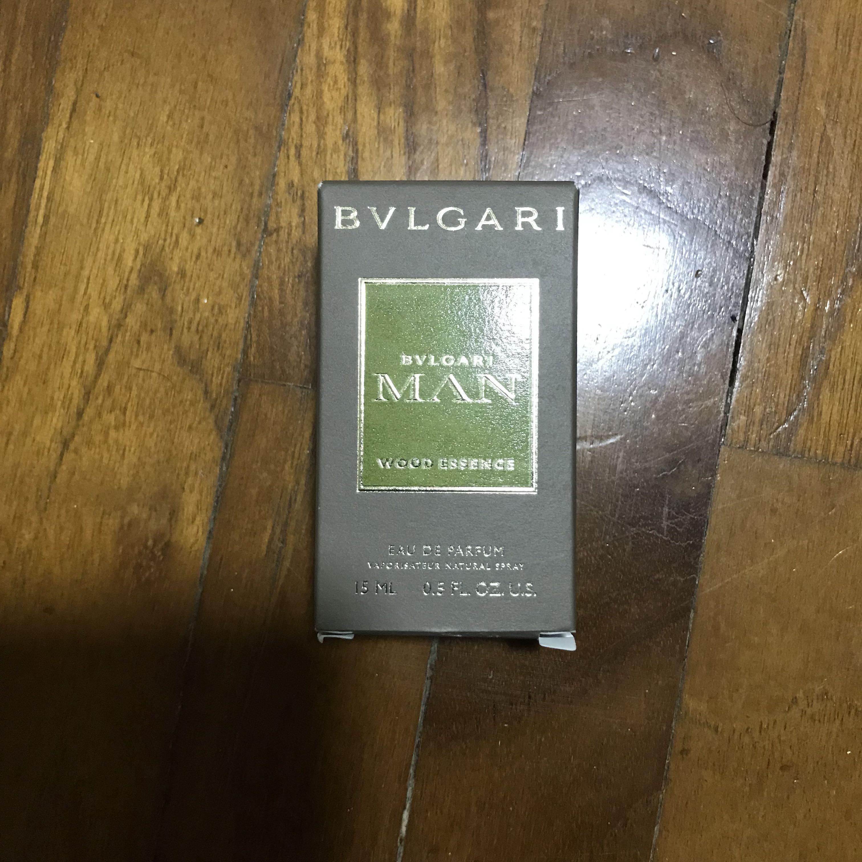 f24c99694af Bvlgari Men Wood Essence 15ml Travel Spray (Just Released!)