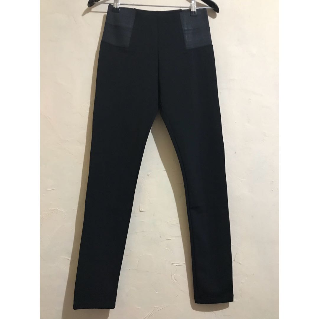 Celana Legging Warna Hitam Size S Olshop Fashion Olshop Wanita Di Carousell