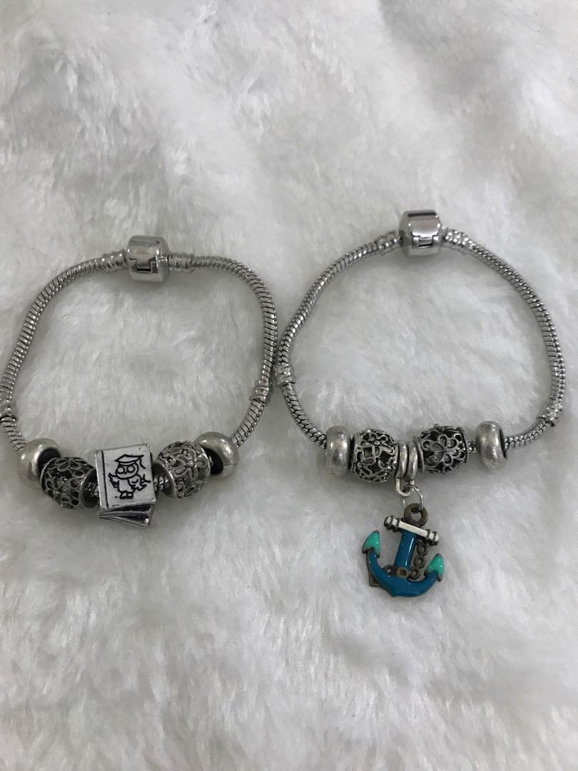 b4df401c8 How Many Charms Fit On A 17cm Pandora BraceletLeather Name Bracelets