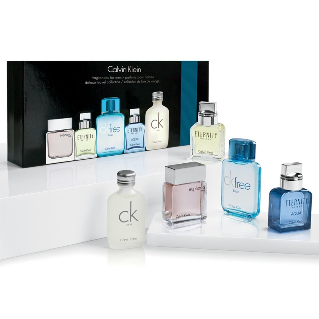 Ck Eternity 5 In 1 Men Perfume Set 15ml X 5 Health Beauty