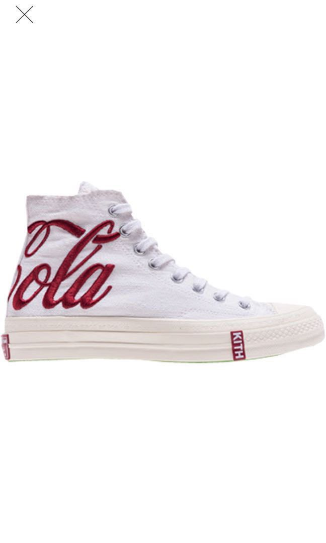 b39fa63984adc Converse Chucks Taylor All Star Kith Coca Cola White