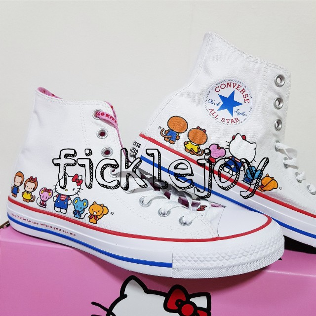 2b15d72aeb7 Limited Edition Converse x Hello Kitty (INSTOCK)