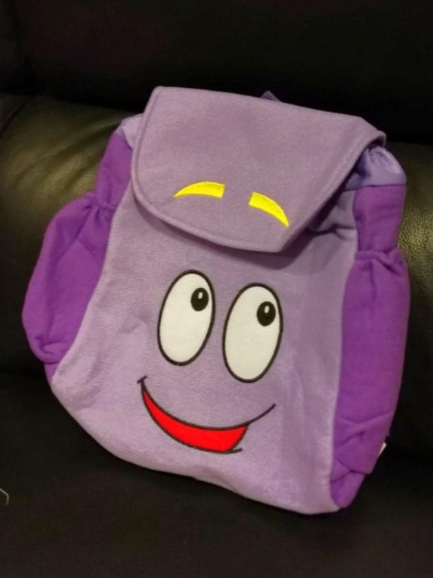 Dora the explorer map backpack bag, Babies & Kids, Toys & Walkers on Dora Plush Backpack With Map on