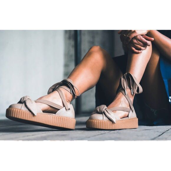 c66248e2f52 Fenty Puma Bow Creeper Sandals