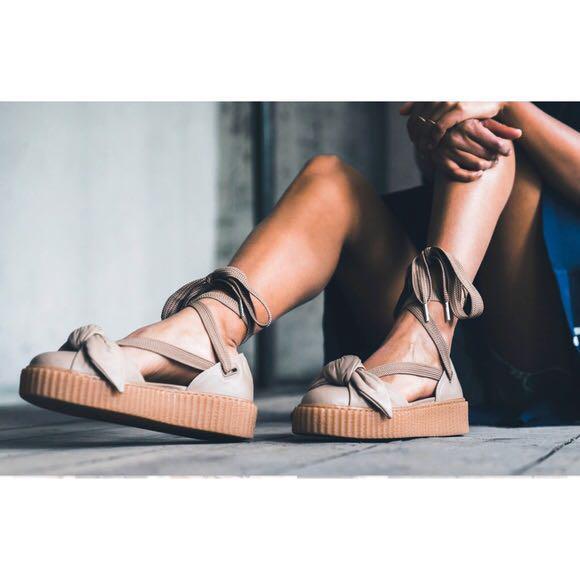 Fenty Puma Bow Creeper Sandals, Women's