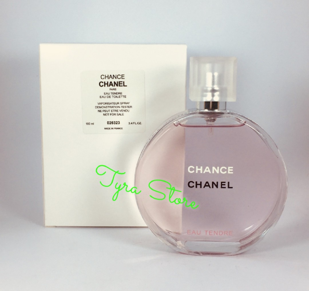 FREE SHIPPING   CASH on DELIVERY ( COD ) - Chanel Chance for Women - 100ml  - Authentic US Tester ( Oil Based ) 8e004ea569