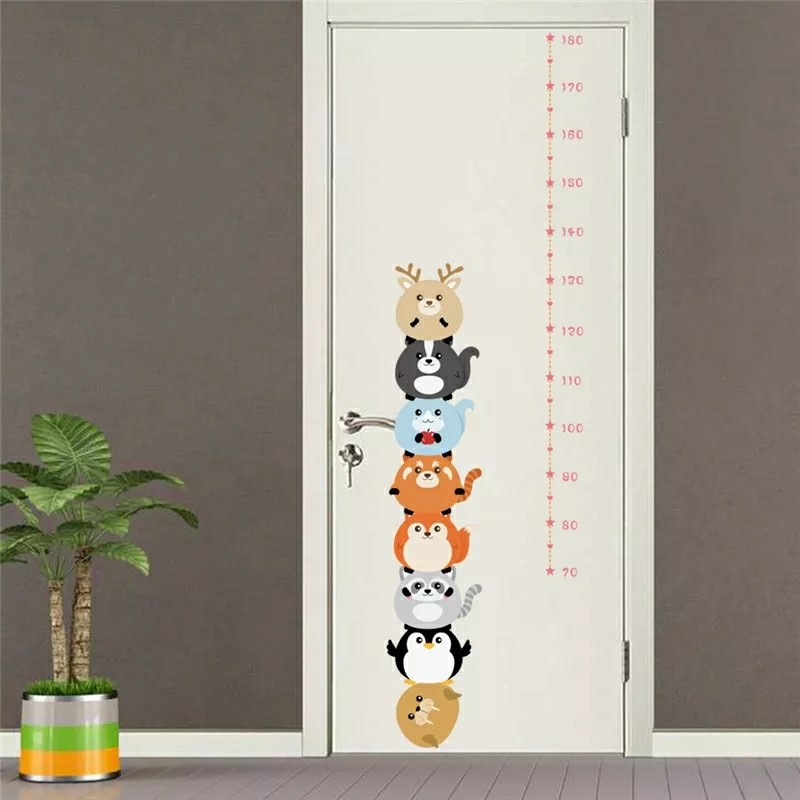 Funny Animals Growth Chart Design Craft Others On Carousell