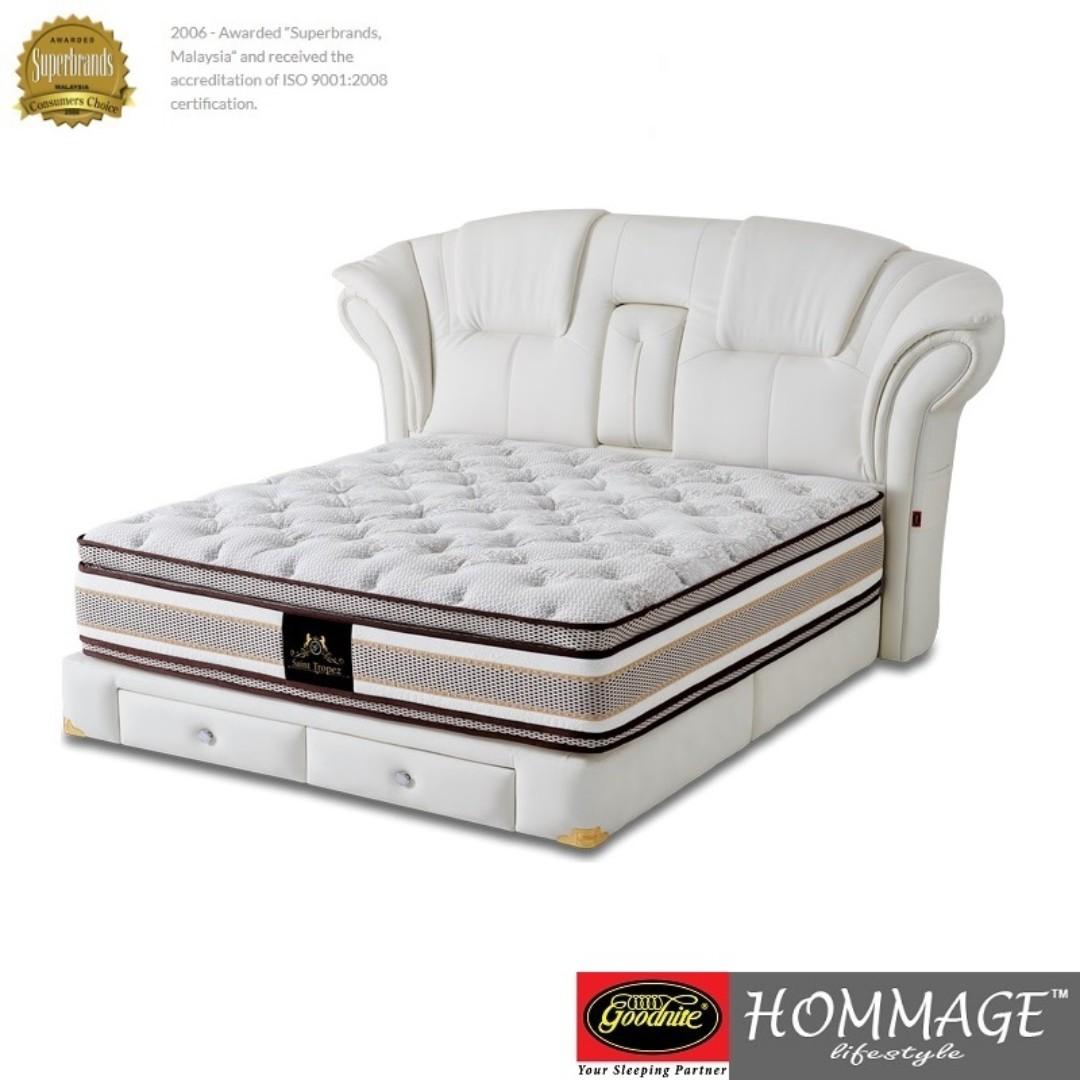 Fantastic Goodnite Saint Tropez 15 Inch Pocketed Spring Mattress Ibusinesslaw Wood Chair Design Ideas Ibusinesslaworg
