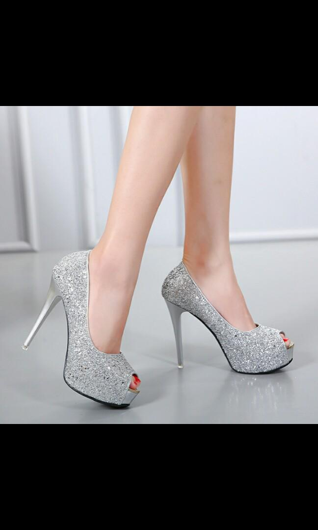 f62b555ab9f NO INSTOCKS!) Preorder korean style elegant Shiny wedding platform ...