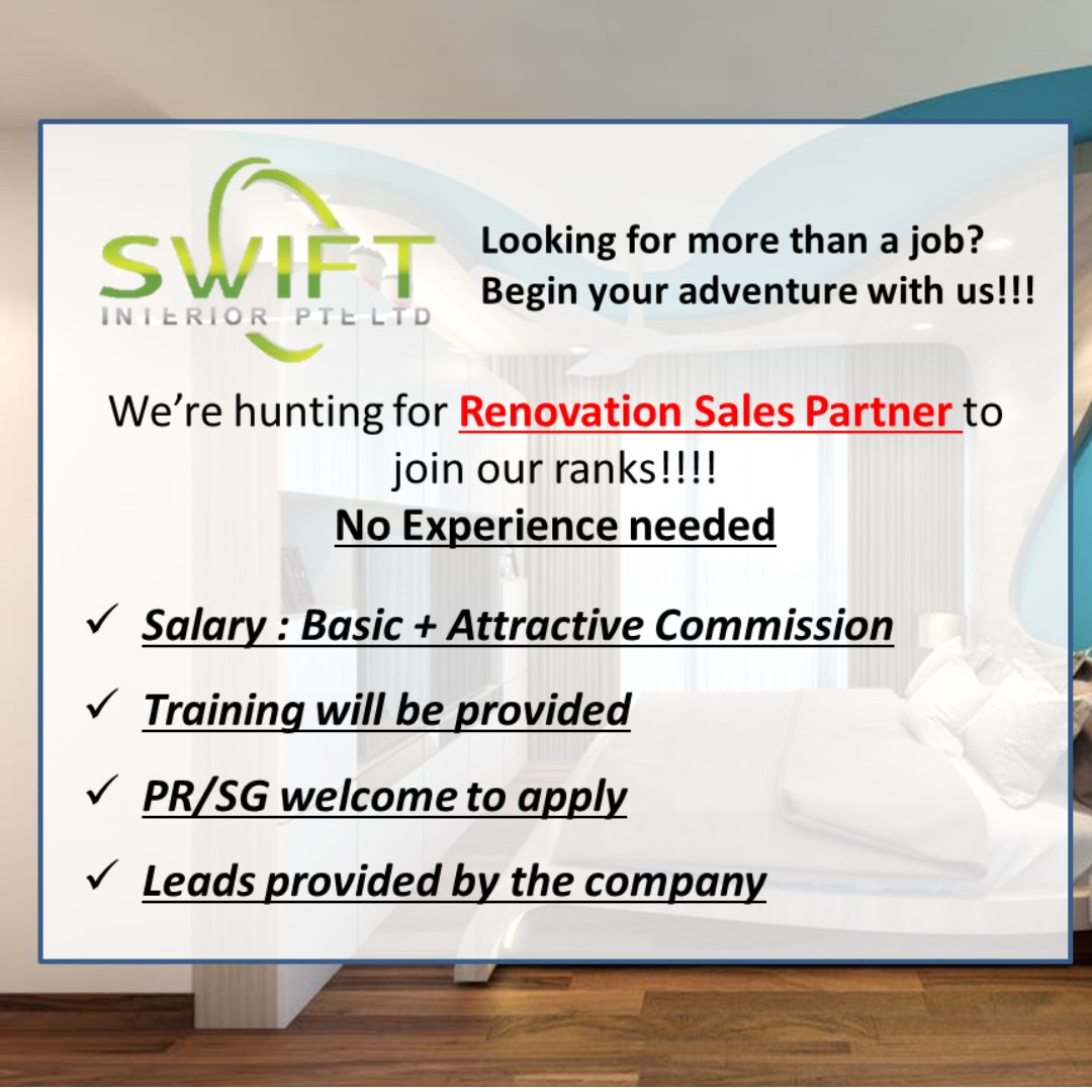 Hiring Renovation Sales Consultantproject Coordinator Jobs Sales