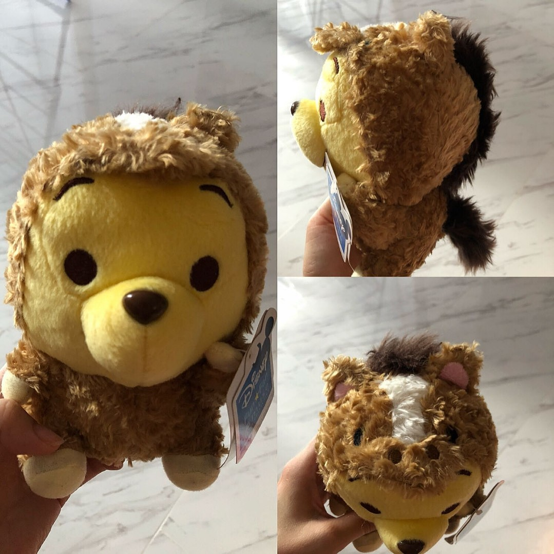 3f93d2af6739 INSTOCK) Disney Pooh Bear in Horse Costumn Plush